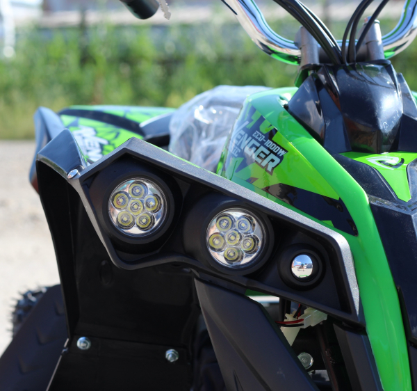 ATV Electric Eco Avenger 1000W 48V cu 3 Trepte de Viteza #Verde 4