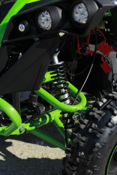 ATV Electric Eco Avenger 1000W 48V cu 3 Trepte de Viteza #Verde 10