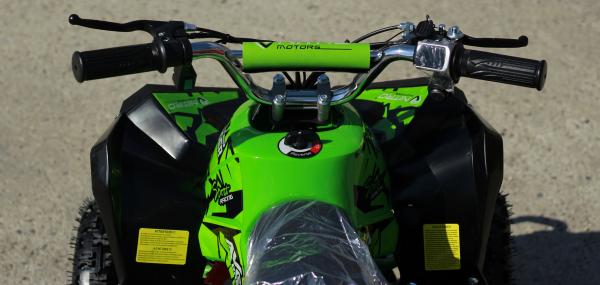 ATV Electric Eco Avenger 1000W 48V cu 3 Trepte de Viteza #Verde 6