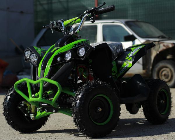 ATV Electric Eco Avenger 1000W 48V cu 3 Trepte de Viteza #Verde 2