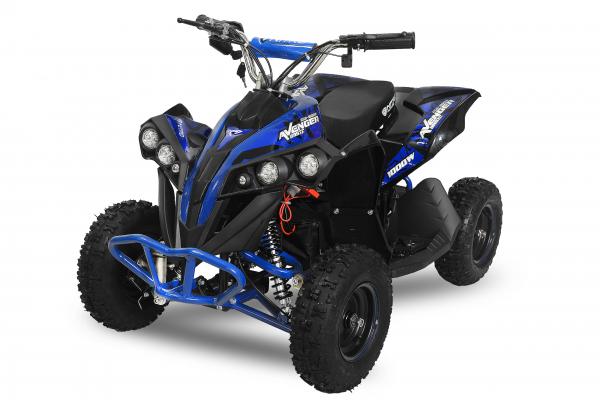 ATV Electric Eco Avenger 800W 36V cu 3 Trepte de Viteza #Albastru 0