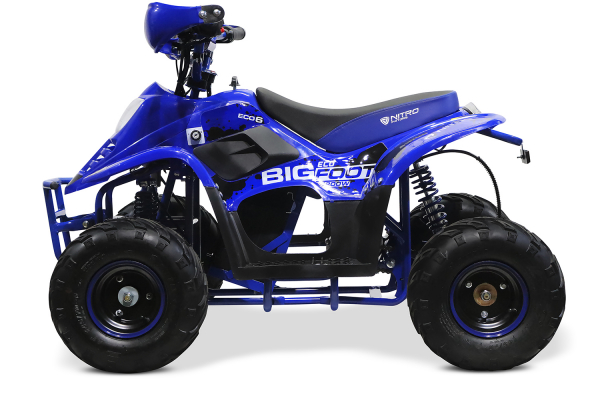 ATV electric ECO Bigfoot 800W 36V cu Baterie Detasabila #Albastru 2