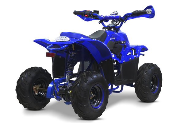 ATV electric ECO Bigfoot 800W 36V cu Baterie Detasabila #Albastru 4