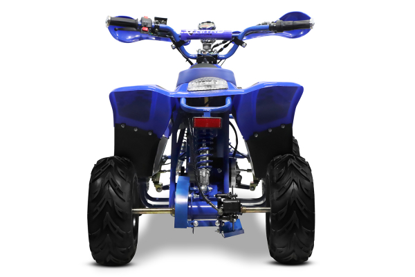 ATV electric ECO Bigfoot 800W 36V cu Baterie Detasabila #Albastru 5