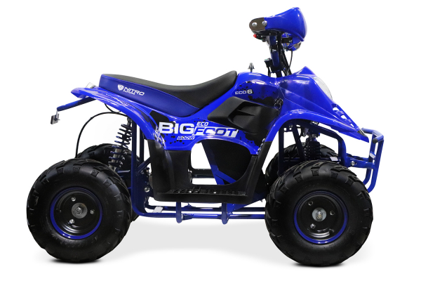 ATV electric ECO Bigfoot 800W 36V cu Baterie Detasabila #Albastru 3