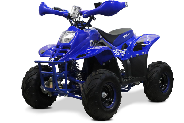 ATV electric ECO Bigfoot 800W 36V cu Baterie Detasabila #Albastru 0