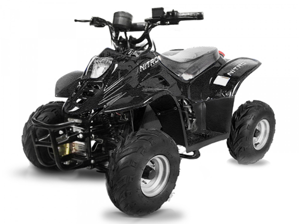 ATV electric ECO Bigfoot 800W 36V cu Baterie Detasabila #Negru 0