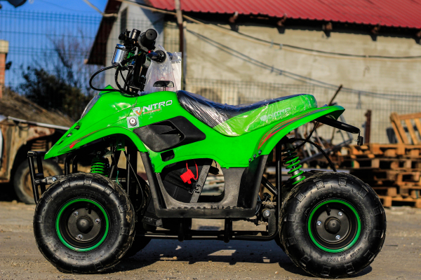 ATV electric ECO Bigfoot 800W 36V cu Baterie Detasabila #Verde 3
