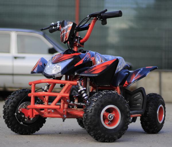 ATV electric ECO Jumpy 800W 36V cu 3 Viteze #Orange 2