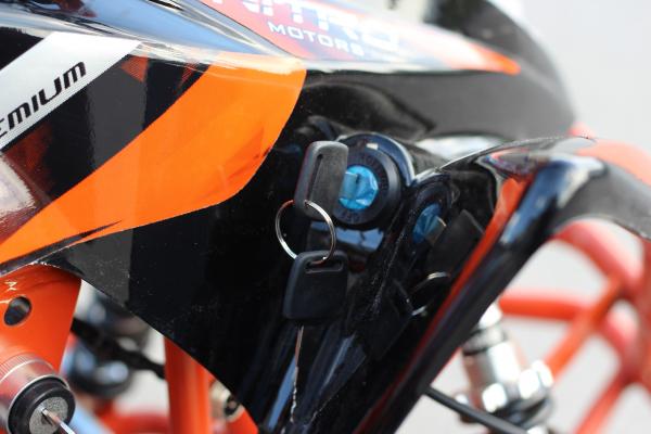 ATV electric ECO Jumpy 800W 36V cu 3 Viteze #Orange 10