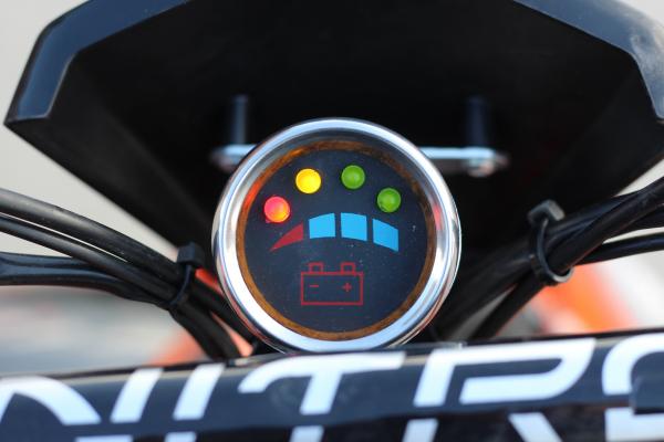 ATV electric ECO Jumpy 800W 36V cu 3 Viteze #Orange 11