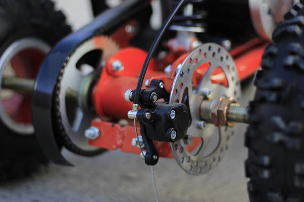 ATV electric ECO Jumpy 800W 36V cu 3 Viteze #Orange 7