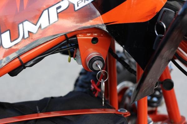 ATV electric ECO Jumpy 800W 36V cu 3 Viteze #Orange 9