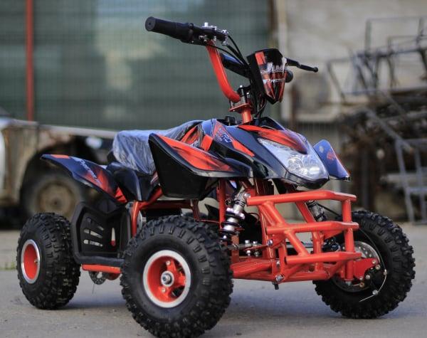 ATV electric ECO Jumpy 800W 36V cu 3 Viteze #Orange 3