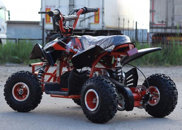 ATV electric ECO Jumpy 800W 36V cu 3 Viteze #Orange 13