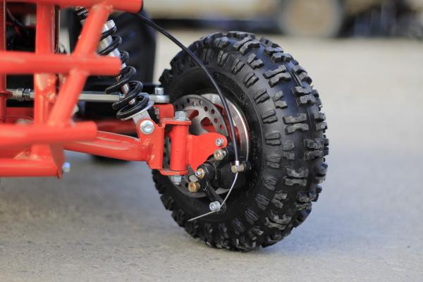 ATV electric ECO Jumpy 800W 36V cu 3 Viteze #Orange 6
