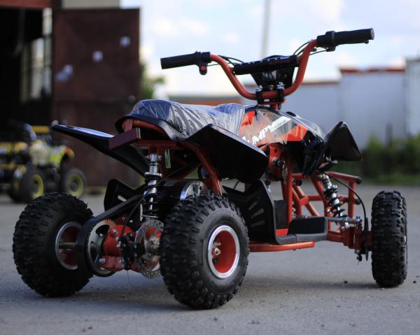 ATV electric ECO Jumpy 800W 36V cu 3 Viteze #Orange 5