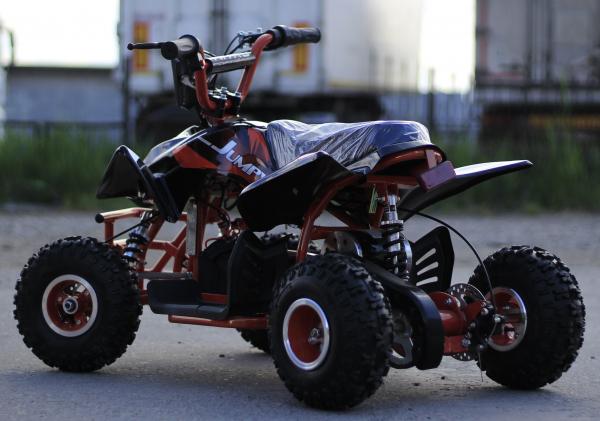 ATV electric ECO Jumpy 800W 36V cu 3 Viteze #Orange 4