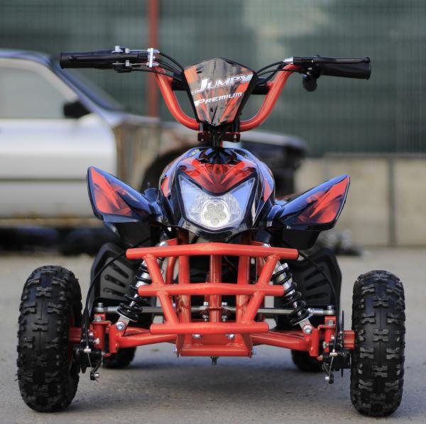 ATV electric ECO Jumpy 800W 36V cu 3 Viteze #Orange 1