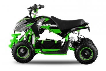 ATV electric ECO Jumpy 800W 36V cu 3 Viteze #Verde 0