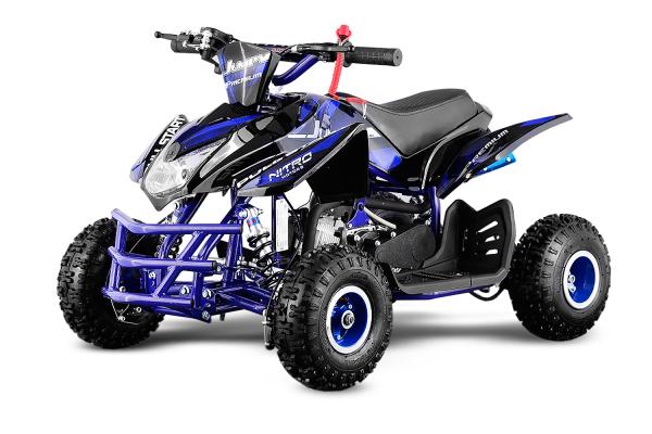 ATV electric ECO Jumpy 800W 36V cu 3 Viteze #Albastru 0
