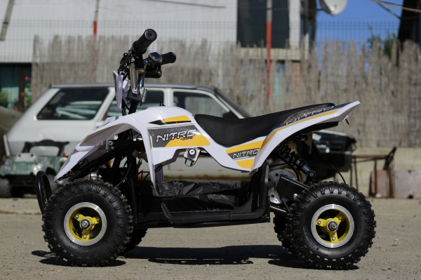 ATV electric ECO Maddox 800W 36V cu 3 Viteze #Galben 8