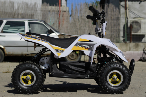 ATV electric ECO Maddox 800W 36V cu 3 Viteze #Galben 4