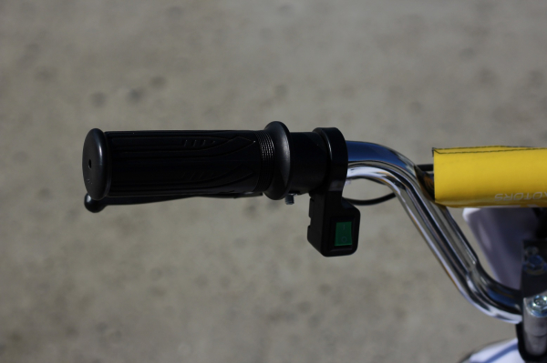 ATV electric ECO Maddox 800W 36V cu 3 Viteze #Galben 10