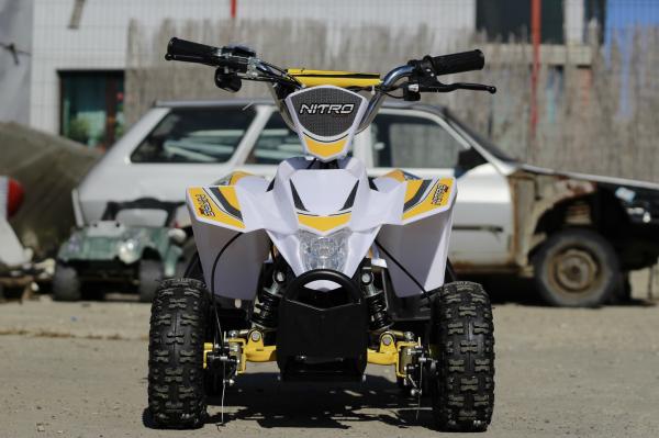 ATV electric ECO Maddox 800W 36V cu 3 Viteze #Galben 1