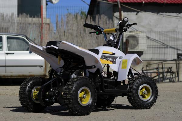 ATV electric ECO Maddox 800W 36V cu 3 Viteze #Galben 5