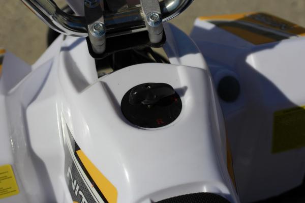 ATV electric ECO Maddox 800W 36V cu 3 Viteze #Galben 11
