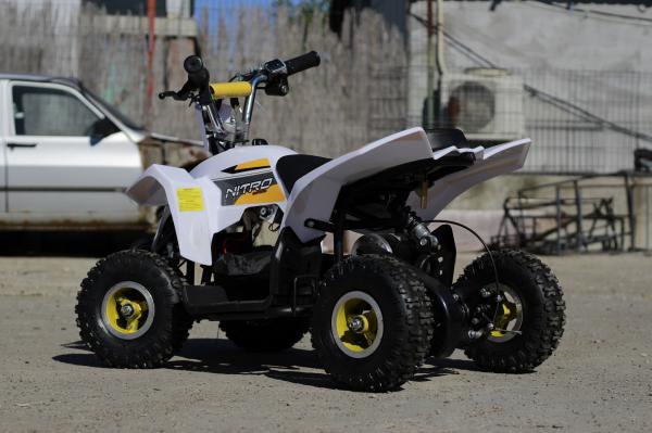 ATV electric ECO Maddox 800W 36V cu 3 Viteze #Galben 7