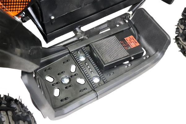 ATV electric Deluxe ECO Maddox 800W 36V cu 3 Viteze #Portocaliu 9