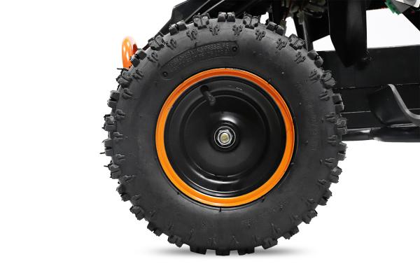 ATV electric Deluxe ECO Maddox 800W 36V cu 3 Viteze #Portocaliu 6