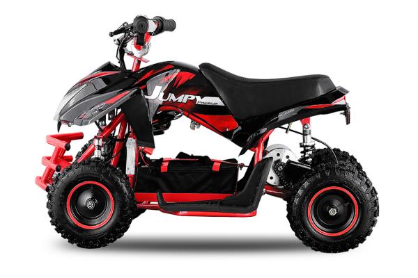 ATV electric ECO Jumpy 800W 36V cu 3 Viteze #Rosu [2]