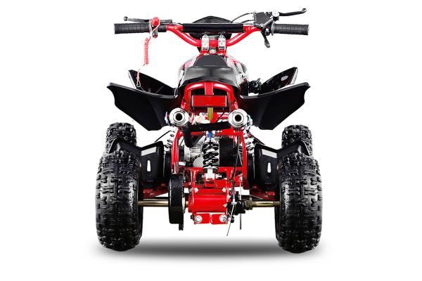 ATV electric ECO Jumpy 800W 36V cu 3 Viteze #Rosu [1]