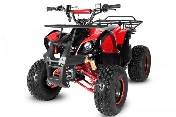 ATV electric Eco Toronto 1000W 48V 20Ah #Rosu 0