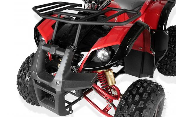 ATV electric Eco Toronto 1000W 48V 20Ah #Rosu 3