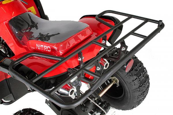 ATV electric Eco Toronto 1000W 48V 20Ah #Rosu 1