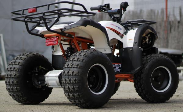 ATV electric Eco Toronto 1000W 48V 20Ah cu DIFERENTIAL #Alb 4