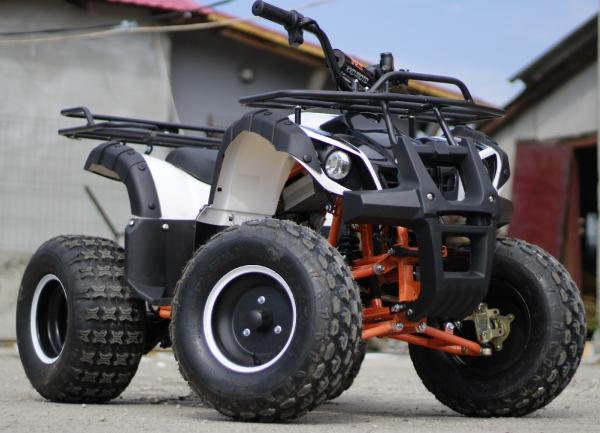 ATV electric Eco Toronto 1000W 48V 20Ah cu DIFERENTIAL #Alb 1