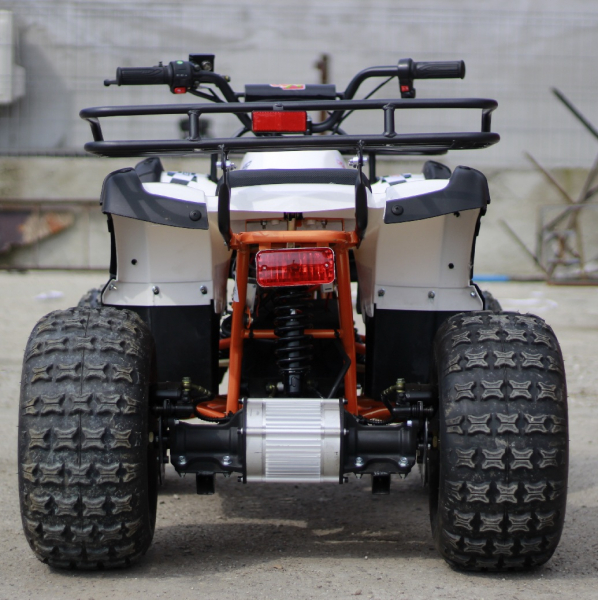 ATV electric Eco Toronto 1000W 48V 20Ah cu DIFERENTIAL #Alb 3
