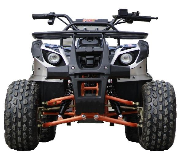 ATV electric Eco Toronto 1000W 48V 20Ah cu DIFERENTIAL #Alb 0