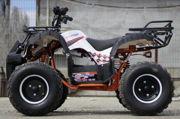 ATV electric Eco Toronto 1000W 48V 20Ah cu DIFERENTIAL #Alb 2