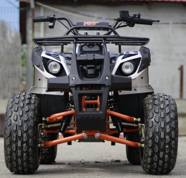ATV electric Eco Toronto 1000W 48V 20Ah cu DIFERENTIAL #Alb 5