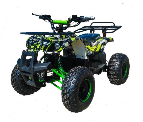 ATV electric Eco Toronto 1000W 48V 20Ah #Verde Camuflaj 0