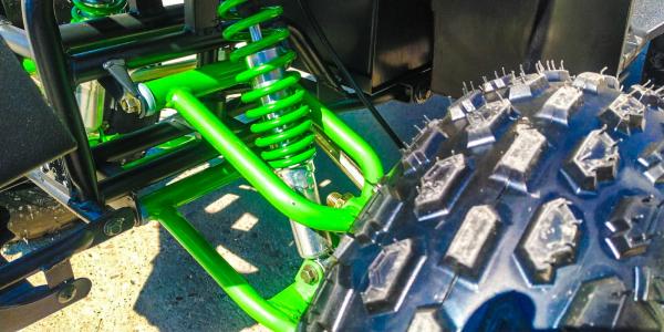 ATV electric Eco Toronto 1000W 48V 20Ah #Verde Camuflaj 5