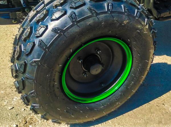 ATV electric Eco Toronto 1000W 48V 20Ah #Verde Camuflaj 3