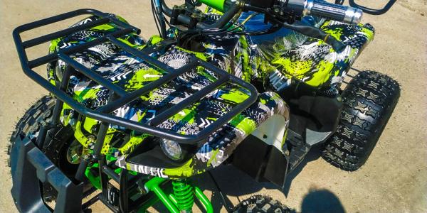 ATV electric Eco Toronto 1000W 48V 20Ah #Verde Camuflaj 2