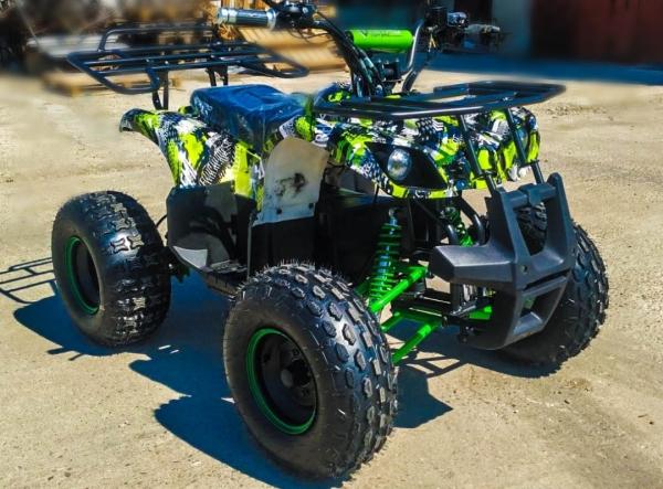 ATV electric Eco Toronto 1000W 48V 20Ah #Verde Camuflaj 6